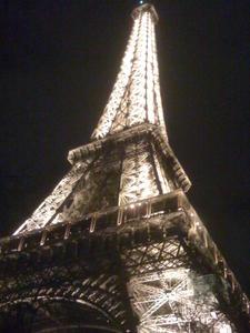 3ème à la Tour Eiffel (ECO-Trail de Paris)