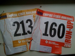 Empire State Building Run Up : 1576 marches, 86 étages.