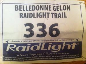 Belledonne Gelon Raidlight Trail => une (petite) victoire à l'arraché !