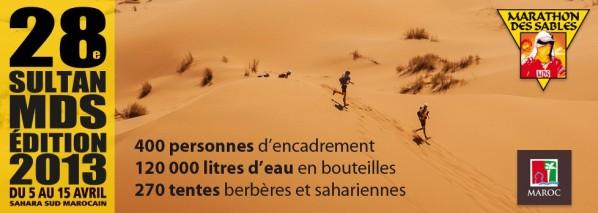 Marathon des Sables, dossard 406… (7-13 avril)