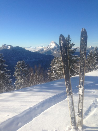 Skis V-QUEST, première !