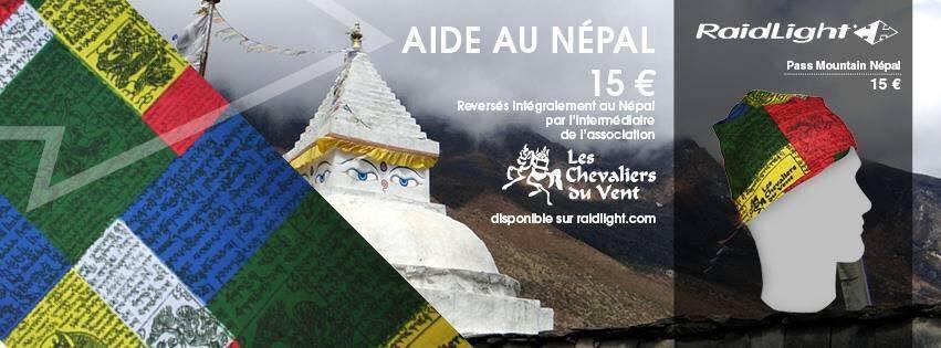 Soutien au Peuple Népalais, achetez un pass-mountain