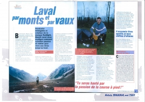 Article Benoit LAVAL Raidlight mai 2001 page 2
