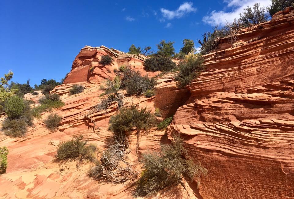 Mes photos du Grand To Grand Ultra (273 km en 6 étapes, Grand Canyon)