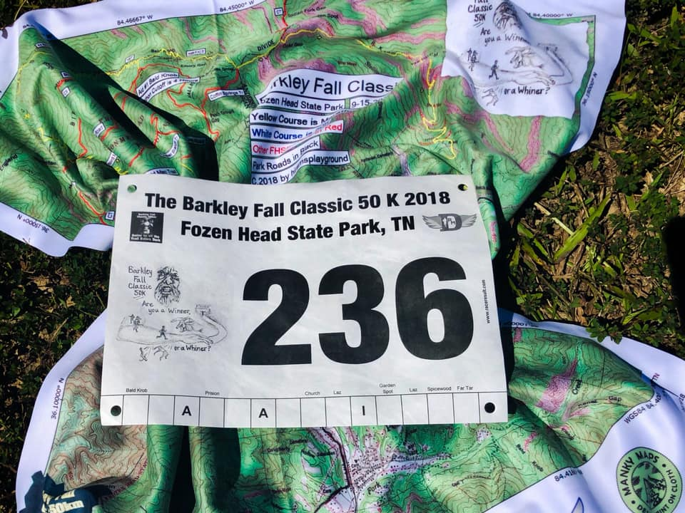 Barkley Fall Classic 2018 : WINNER !