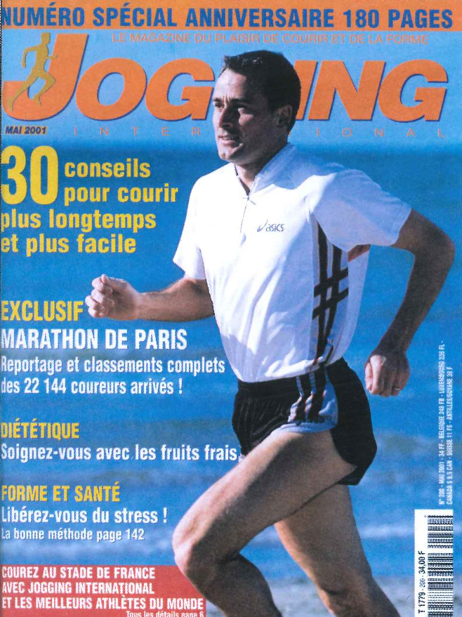 Couverture du magazine Jogging