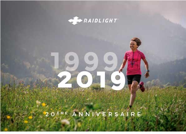 couverture de la brochure des 20 ans de Raidlight