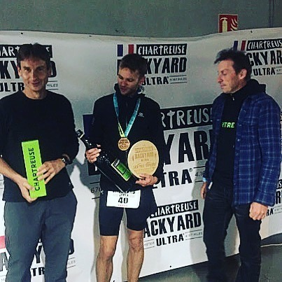 Chartreuse BACKYARD ULTRA 2019, 1st edition,